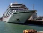 Viking Star, berthed in Cadiz, Spain. Picture: John Honeywell