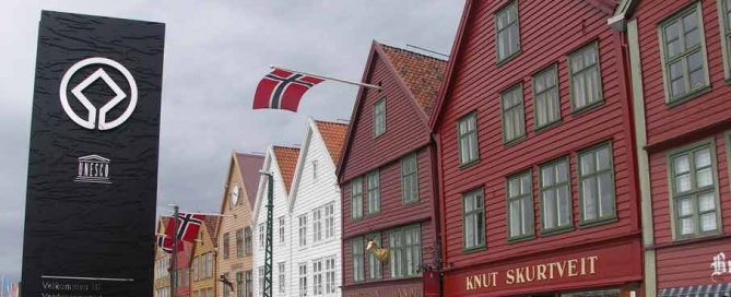 Bergen's UNESCO-listed Bryggen