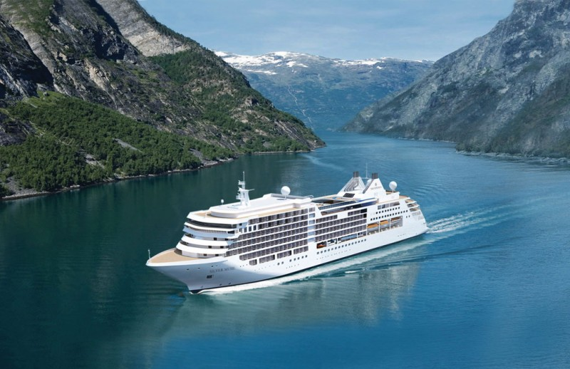 Newbuild Silver Muse To Become Silverseas Luxury Flagship In - How do you become a captain of a cruise ship