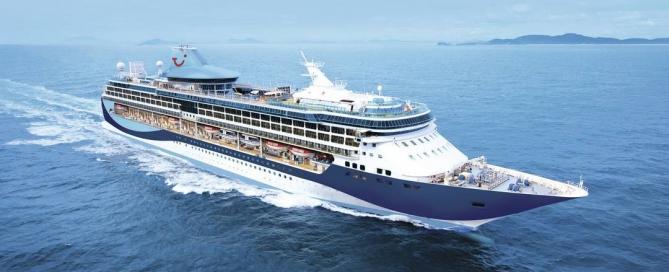 Thomson Cruises' latest ship, TUI Discovery 2