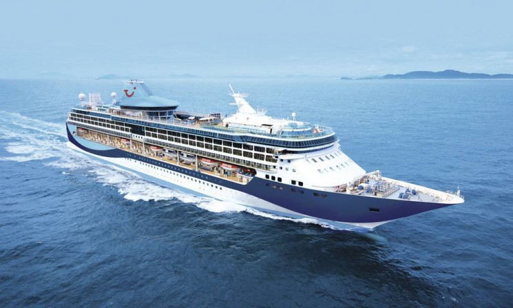 Thomson Cruises' latest ship, TUI Discovery 2