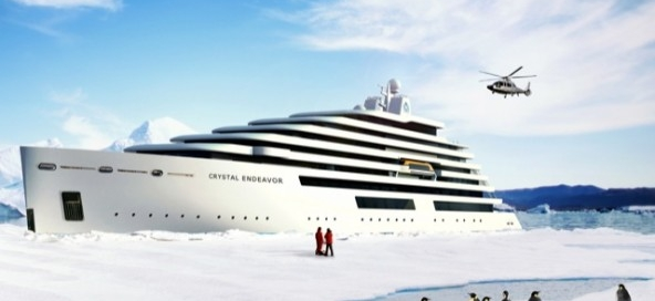 Crystal Endeavor, launching in 2019