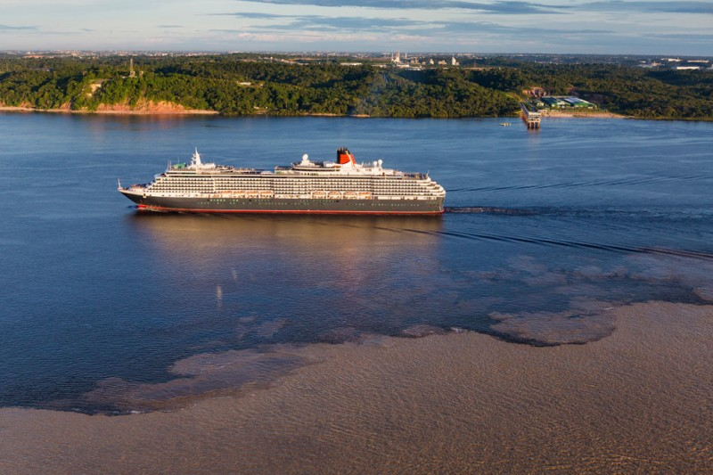 Cunards Queen Victoria Is The Largest Passenger Ship To Reach The - How do you become a captain of a cruise ship