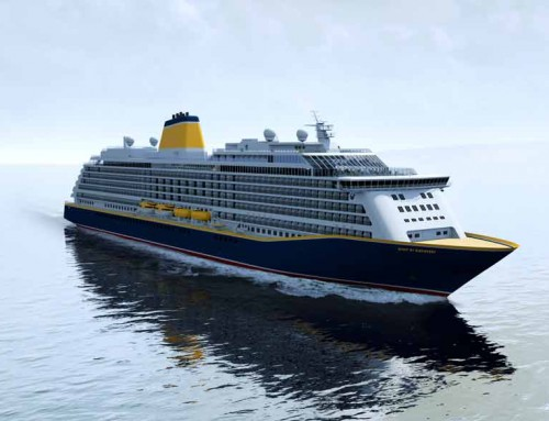 Spirit of Discovery is the name chosen for Saga Cruises' first newbuild ship, arriving in 2019