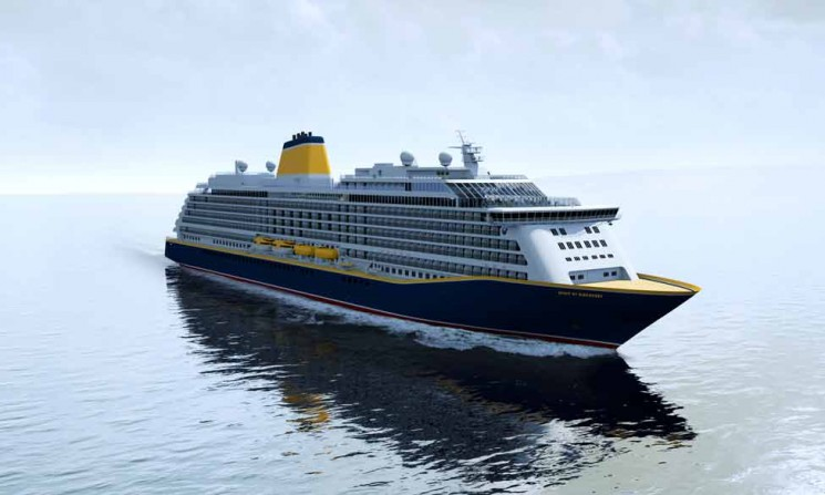 Saga Cruises' Spirit of Discovery
