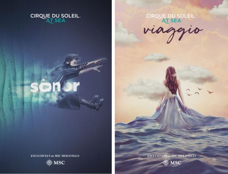 Cirque de Soleil's Sonor and Viaggio for MSC Meraviglia