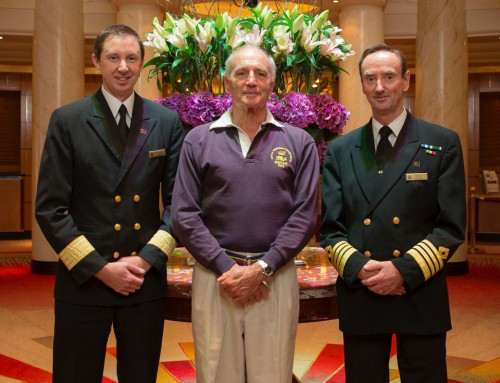 Solo yachtsman rescued by Cunard's QM2 becomes a convert to cruise ships