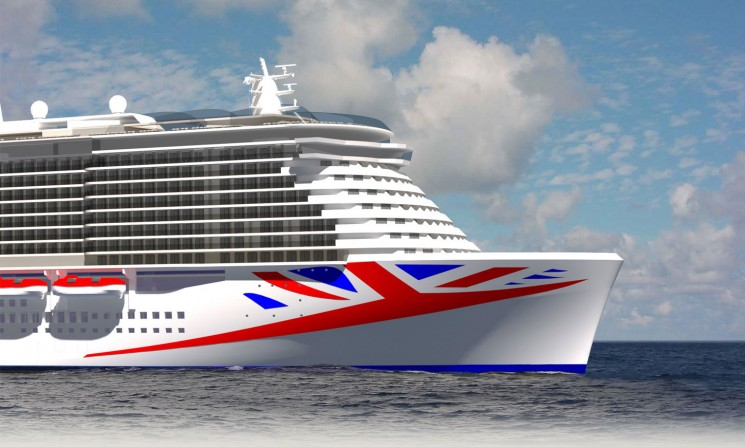 P&O Cruises new ship, launching 2020