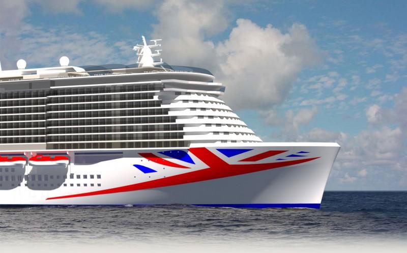 P&O Cruises new ship, launching 2020