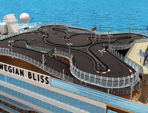 Go-kart track sends Norwegian Bliss racing ahead of the competition
