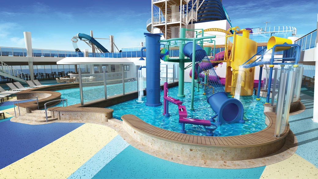 Norwegian Bliss Aqua Park