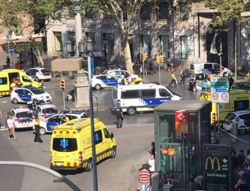 British cruise passengers escape Barcelona terror attack