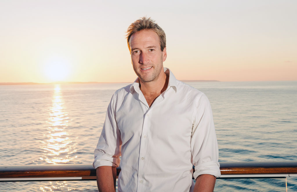 Embark on a cruise adventure with Ben Fogle